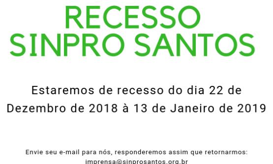 RECESSOSINPRO SANTOS